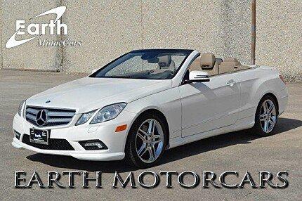 2011 Mercedes-Benz E550 Cabriolet for sale 100778781