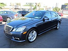2011 Mercedes-Benz E550 Sedan for sale 100881755