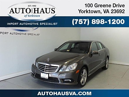 2011 Mercedes-Benz E550 Sedan for sale 100886875