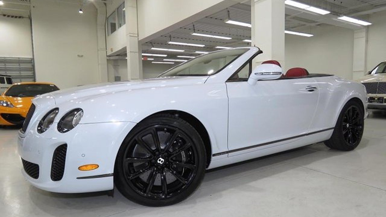 2011 bentley Continental Supersports Convertible for sale 101005291