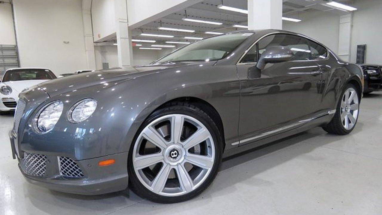 2012 Bentley Continental GT Coupe for sale 100905272