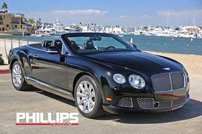 2012 Bentley Continental GT Convertible for sale 101043589