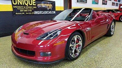 2012 Chevrolet Corvette Grand Sport Convertible for sale 100942074