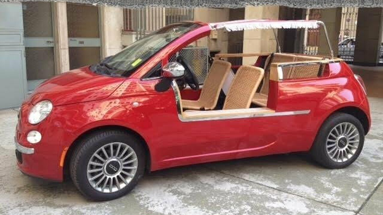 2012 FIAT 500 Lounge Cabrio for sale 100891125