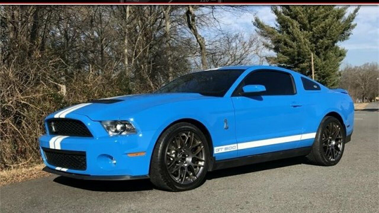 2012 Ford Mustang Shelby GT500 Coupe for sale 100943251