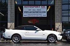 2012 Ford Mustang GT Convertible for sale 101006307