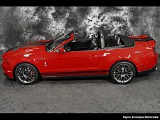 2012 Ford Mustang Shelby GT500 Convertible for sale 101033212
