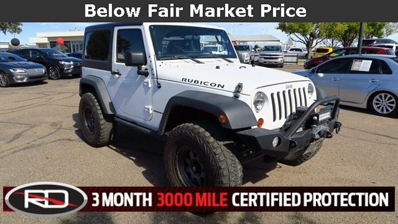 2012 Jeep Wrangler 4WD Rubicon for sale 100927843
