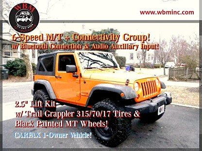 2012 Jeep Wrangler 4WD Sport for sale 100947429