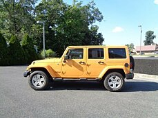 2012 Jeep Wrangler 4WD Unlimited Sahara for sale 100995031