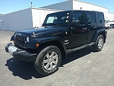 2012 Jeep Wrangler 4WD Unlimited Sahara for sale 100995499