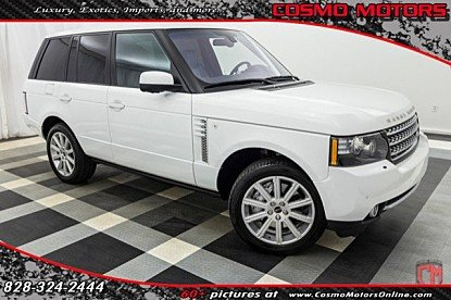 2012 Land Rover Range Rover Supercharged for sale 100960486