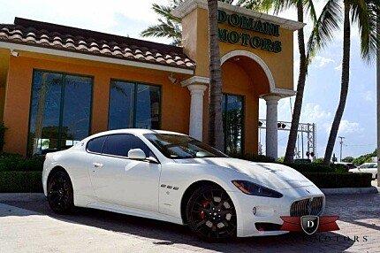 2012 Maserati GranTurismo S Coupe for sale 100782176