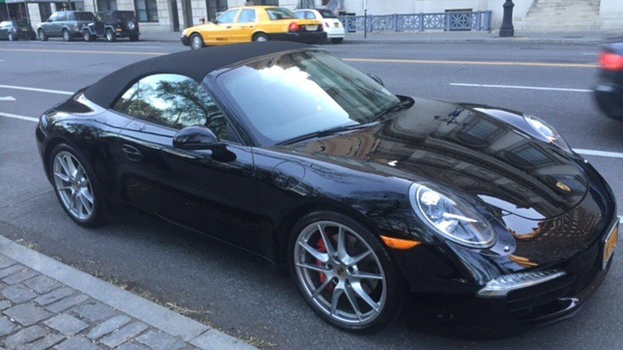 2012 porsche 911 carrera s cabriolet for sale near new york new york 10024 classics on autotrader. Black Bedroom Furniture Sets. Home Design Ideas