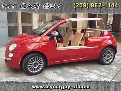 2012 fiat 500 Lounge Cabrio for sale 100891125