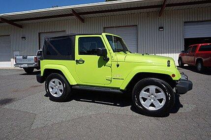 2012 jeep Wrangler 4WD Sahara for sale 100993947