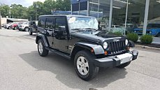 2012 jeep Wrangler 4WD Unlimited Sahara for sale 101018911