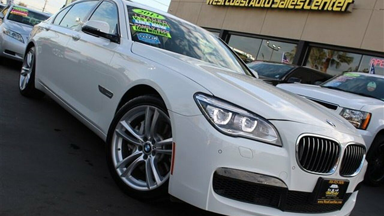 2013 BMW 750Li for sale 100982108