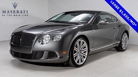 2013 Bentley Continental GT Speed Coupe for sale 100858264
