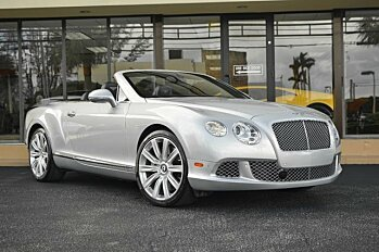 2013 Bentley Continental GT Convertible for sale 100917083