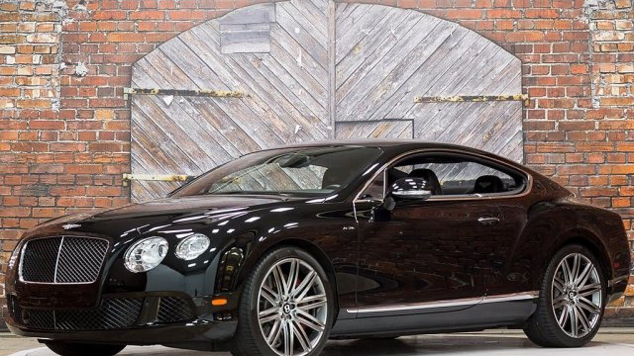 2013 Bentley Continental GT Speed Coupe for sale 100924033