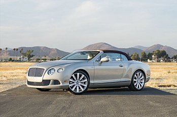 2013 Bentley Continental GT Convertible for sale 101007083