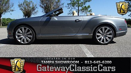 2013 Bentley Continental GT V8 Convertible for sale 100977205