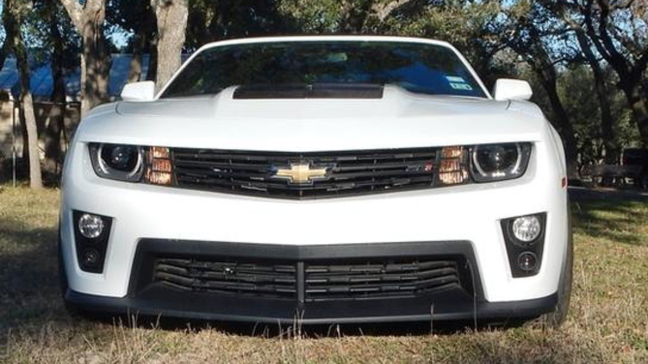 Camaro 2013 chevrolet camaro zl1 for sale : 2013 Chevrolet Camaro ZL1 Convertible for sale near Wimberley ...