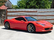 2013 Ferrari 458 Italia Coupe for sale 101016382
