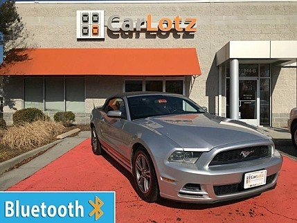 2013 Ford Mustang Convertible for sale 100954078