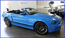 2013 Ford Mustang Shelby GT500 Convertible for sale 100954346