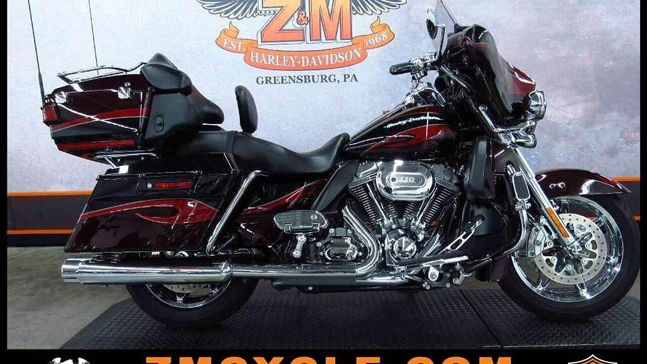 2013 Harley-Davidson CVO for sale 200438591