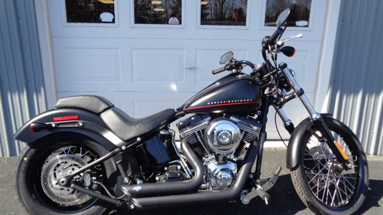2013 Harley-Davidson Softail Blackline for sale 200449810