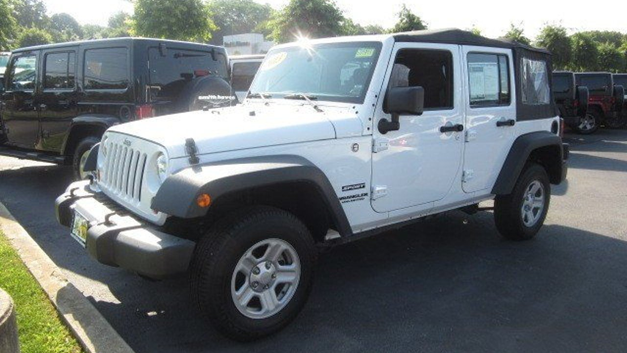 2013 Jeep Wrangler 4WD Unlimited Sport for sale 100894743