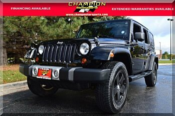 2013 Jeep Wrangler 4WD Unlimited Sahara for sale 100919731