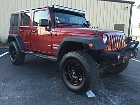 2013 Jeep Wrangler 4WD Unlimited Sport for sale 100850813