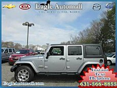 2013 Jeep Wrangler 4WD Unlimited Sahara for sale 100867482