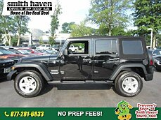 2013 Jeep Wrangler 4WD Unlimited Sport for sale 100887169