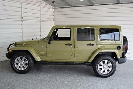 2013 Jeep Wrangler 4WD Unlimited Sahara for sale 100896253