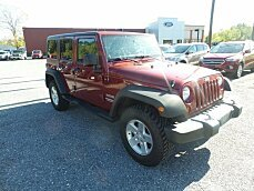 2013 Jeep Wrangler 4WD Unlimited Sport for sale 100911538