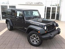 2013 Jeep Wrangler 4WD Unlimited Rubicon for sale 100916348