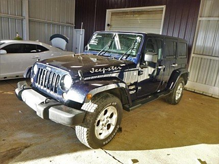 2013 Jeep Wrangler 4WD Unlimited Sahara for sale 100943268