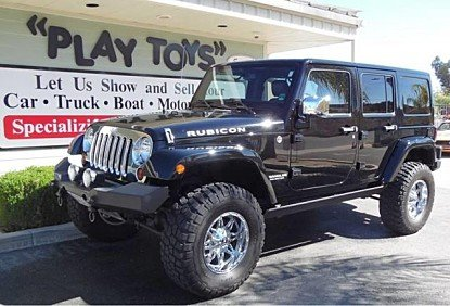 2013 Jeep Wrangler 4WD Unlimited Rubicon for sale 100958951
