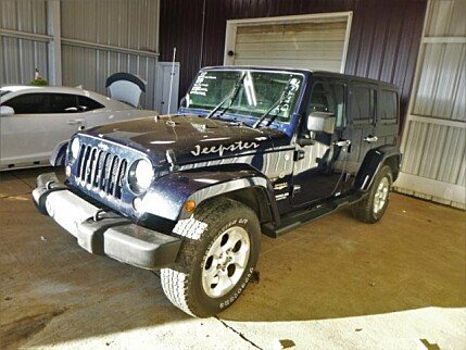 2013 Jeep Wrangler 4WD Unlimited Sahara for sale 100973054