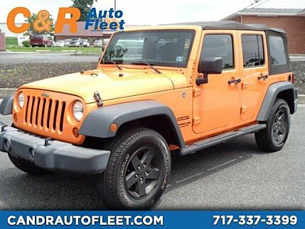 2013 Jeep Wrangler 4WD Unlimited Sport for sale 100995038