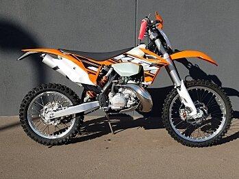 2013 KTM 200XC-W for sale 200413445