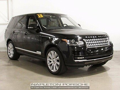 2013 Land Rover Range Rover Supercharged for sale 100909337