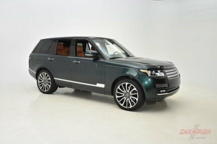 2013 Land Rover Range Rover Autobiography for sale 100923933