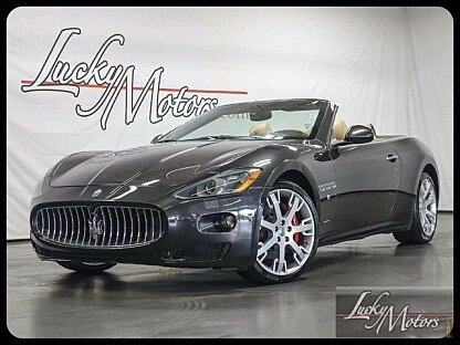 2013 Maserati GranTurismo Convertible for sale 100782825