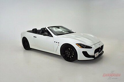 2013 Maserati GranTurismo Sport Convertible for sale 100976595